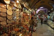 Travel photography:Shop in the Grand Basar in Istanbul, Turkey