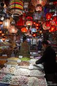 Travel photography:Turkish (de)lights at the Egyptian (Spice) Basar in Istanbul, Turkey