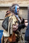 Travel photography:William Wallace impersonator in Edinburgh, United Kingdom