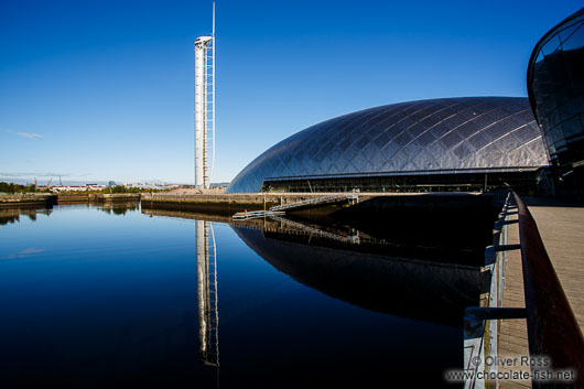 The Glasgow Science Centre with Millennium Tower
