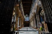 Travel photography:The interior of Glasgow Cathedral, United Kingdom