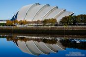 Travel photography:The Clyde Auditorium in Glasgow, United Kingdom