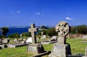 Travel photography:Mt St Michael Cemetery in Cornwall, United Kingdom