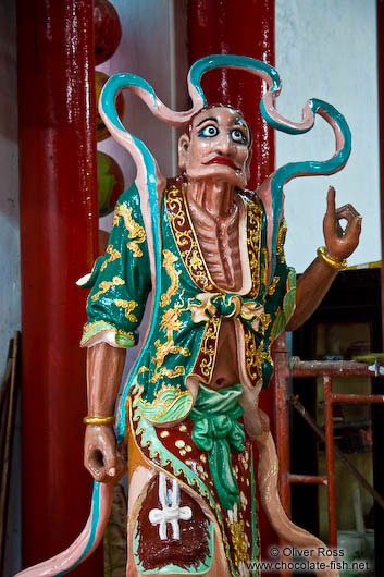 Figure at a Hoi An Chinese assembly hall