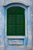 Travel photography:Window at a Chinese assembly hall in Hoi An, Vietnam