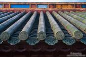 Travel photography:Hue Citadel roof detail , Vietnam