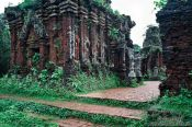 Travel photography:My Son temple ruins , Vietnam