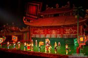 Travel photography:Show at Hanoi´s Water Puppet Theatre , Vietnam