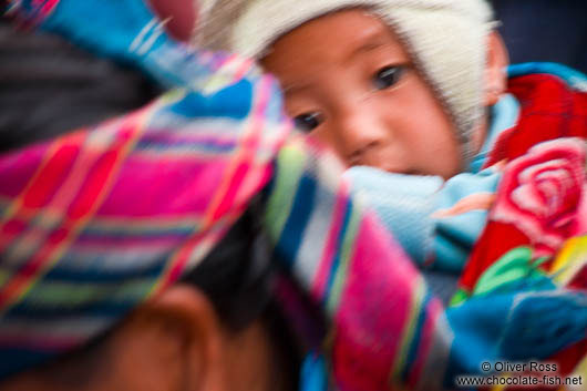 Hmong mother and child in Sapa