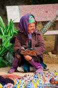 Travel photography:Hmong woman in Sapa, Vietnam