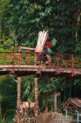 Travel photography:Bridge near Cat Cat village in Sapa, Vietnam
