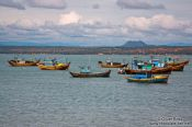 Travel photography:Fishing boats at Mui Ne , Vietnam