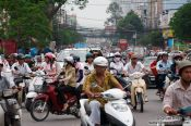 Travel photography:Hoh Chi Minh City traffic , Vietnam